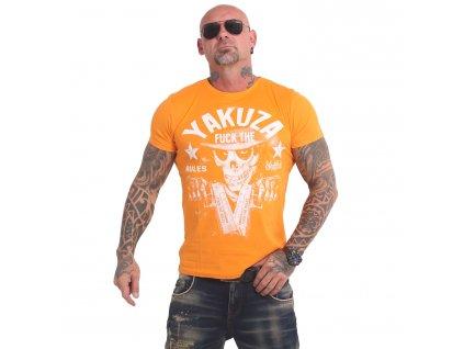 Yakuza RULES tričko pánske TSB 17025 bright marigold