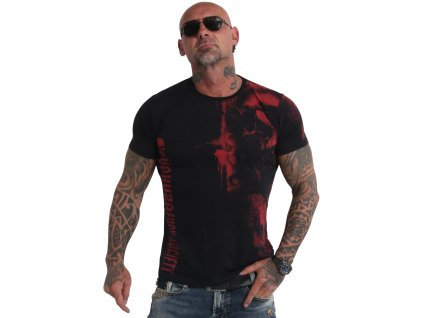 Yakuza WAITING DEATH V02 tričko pánske TSB 180107 black red