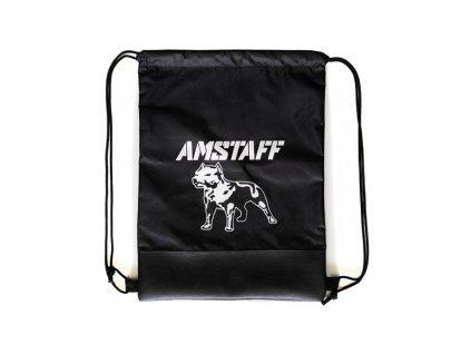 Amstaff Gymbag BREED vrecko na obuv black