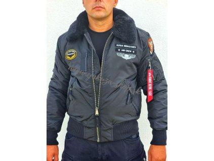 Alpha Industries INJECTOR III AIR FORCE zimná bunda black black