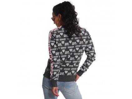 Yakuza mikina dámska LOGO LOVE Classic Sweater GPB 18104 black A