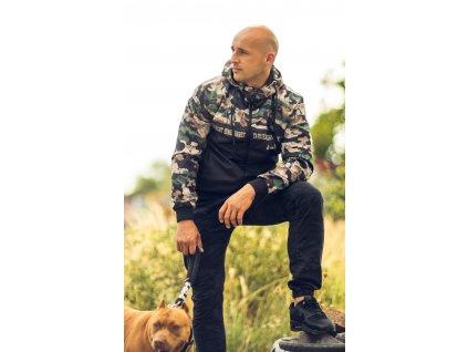 Yakuza bunda TAKTICAL SKULL WINDBREAKER WB 18034 camouflage h