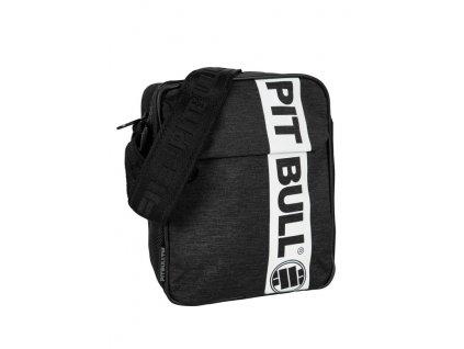 PitBull West Coast taška cez plece HILLTOP black white