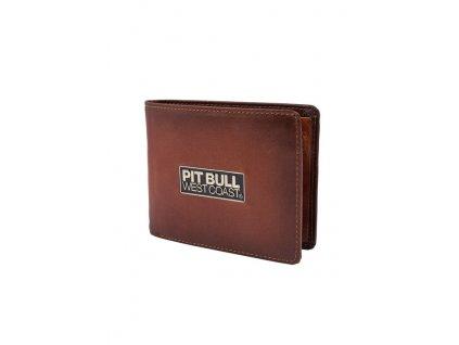 PitBull West Coast kožená peňaženka BRANT brown