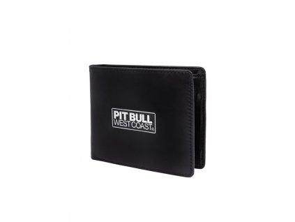 PitBull West Coast kožená peňaženka BRANT Black