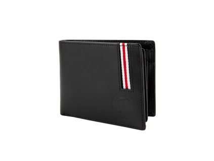 PitBull West Coast kožená peňaženka LIN WOOD Black