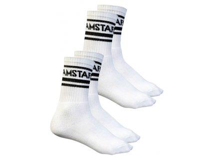 Amstaff ponožky TASKUS 2 páry v balení white