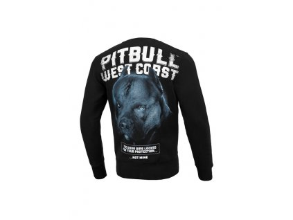 Pitbull West Coast mikina Black Dog crew black