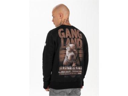 Pitbull West Coast mikina Mugshot crew black
