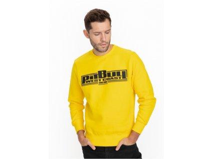 Pitbull West Coast mikina Classic Boxing yellow