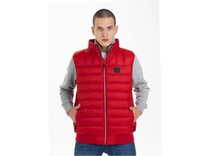 PitBull West Coast zimná vesta GRANGER Red