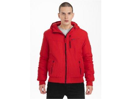 PitBull West Coast zimná bunda SPINNAKER II red