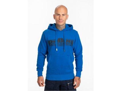 Pitbull West Coast mikina s kapucňou CLASSIC BOXING 21 royal blue