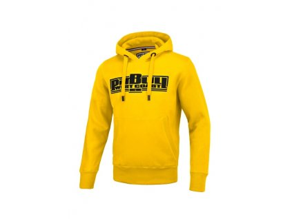 Pitbull West Coast mikina s kapucňou CLASSIC BOXING 21 yellow