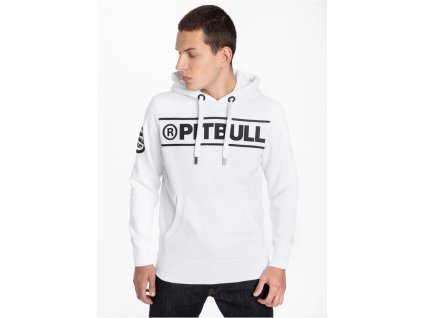 Pitbull West Coast mikina s kapucňou POTOMAC II white