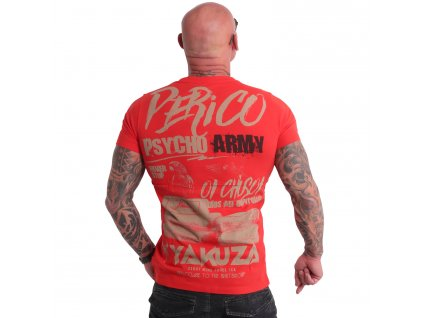 Yakuza tričko pánske PERICO TSB 19025 adrenaline rush