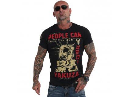 Yakuza tričko pánske PEOPLE TSB 19026 black