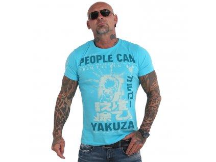 Yakuza tričko pánske PEOPLE TSB 19026 blue atol