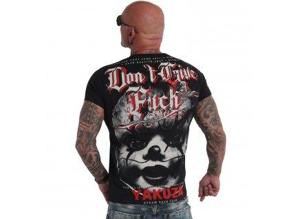 Yakuza tričko pánske Give A Fck TSB 19027 black
