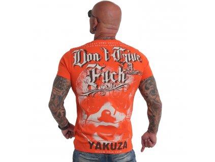 Yakuza tričko pánske Give A Fck TSB 19027 cherry tomato