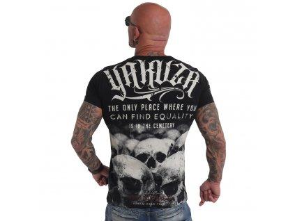 Yakuza tričko pánske Equality TSB 19039 black