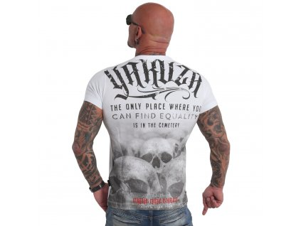 Yakuza tričko pánske Equality TSB 19039 white