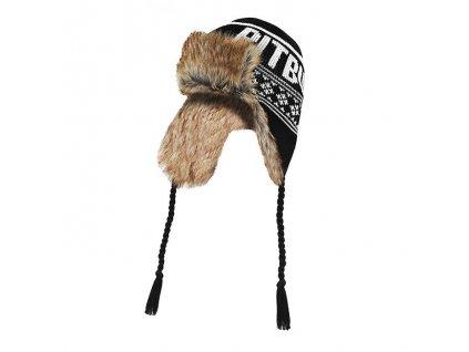 Pitbull West Coast zimná čiapka pletená MISSION BAY black