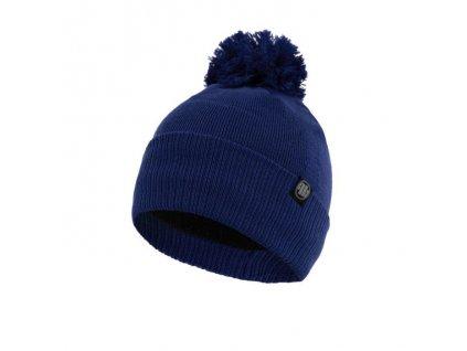 Pitbull West Coast zimná čiapka pletená SMALL LOGO royal blue s brmbolcom