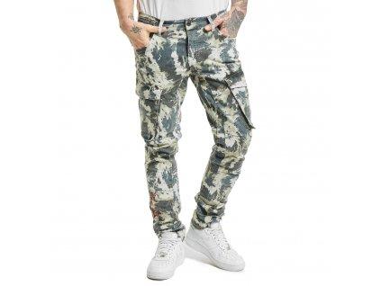 Yakuza pánske cargo nohavice RULES CARGO PANTS CPB 17050 camouflage