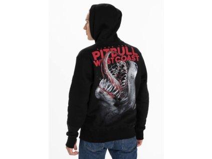 Pitbull West Coast mikina s kapucňou SINCE 89 black