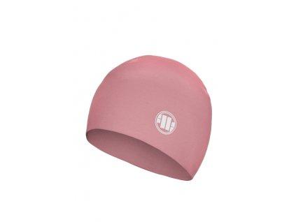 Pitbull West Coast zimná čiapka SMALL LOGO pink