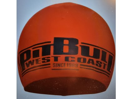 Pitbull West Coast zimná čiapka Classic Boxing red