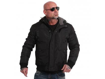 Yakuza pánska zimná bunda EMB SIGNZ ULTIMATE WJB 18029 black