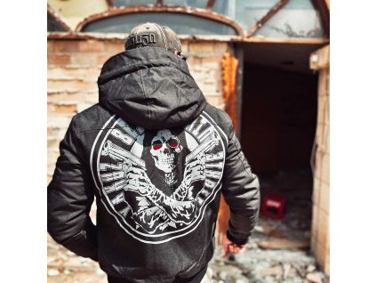 Yakuza pánska zimná bunda ARMED DEATH TROOP WJB 18030 black