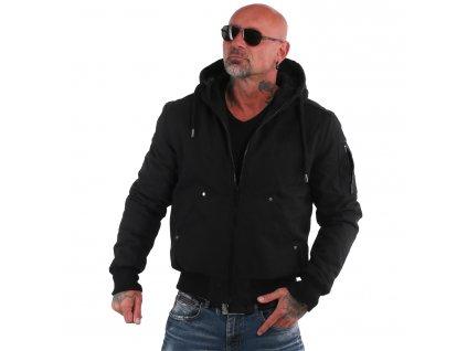 Yakuza pánska zimná bunda FCK SOCIETY ROOKIE WJB 18027 black