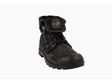 Palladium módne topánky PALLABROUSSE BAGGY BLACK METAL