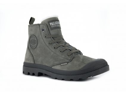 Palladium módne topánky PAMPA HI ZIP WL FALLEN ROCK