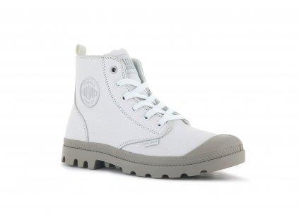 Palladium módne topánky PAMPA HI ZIP SL STAR WHITE
