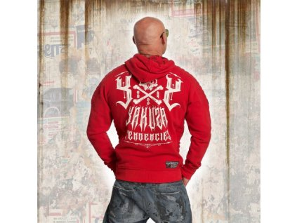 Yakuza DESTRUCTIVE TENDENCIES mikina pánska HOB 11001 ribbon red