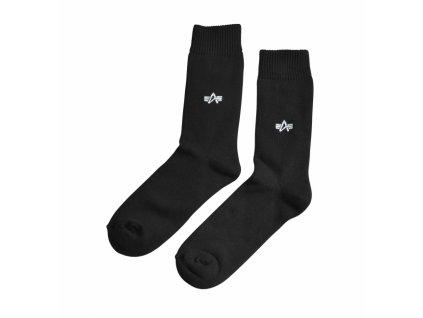 Alpha Industries Socks pánske ponožky - 3 páry v balení