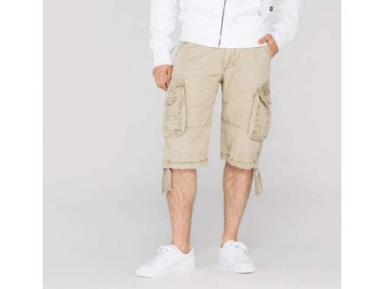 Alpha Industries Jet Short Bone White pánske šortky