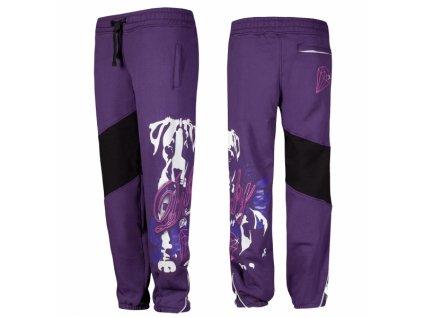 Babystaff tepláky ARISE purple