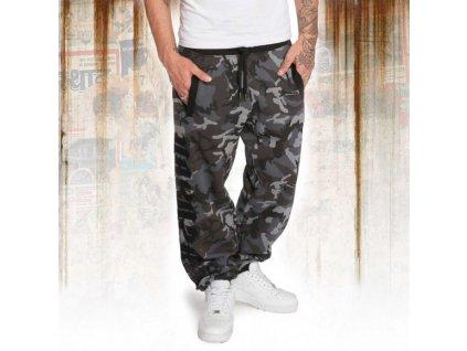 Yakuza DAILY USE tepláky pánske job 12052 camouflage grey