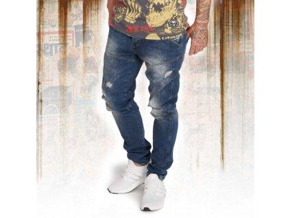 Yakuza jeansy pánske 893 STRAIGHT JEANS JEB 12071 medium havoc