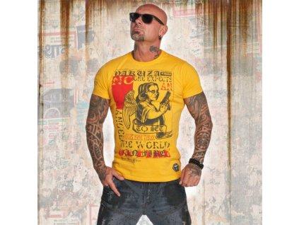 Yakuza tričko pánske NO ONE TSB 12001 gold fusion