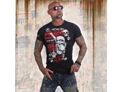 Yakuza tričko pánske COCK FACE TSB 12002 black