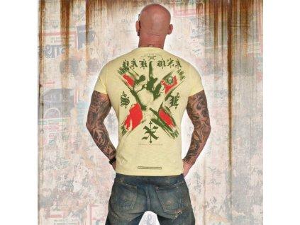 Yakuza tričko pánske WORLD PEACE TSB 12011 pala banana