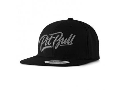 PitBull West Coast šiltovka FLAT EL JEFE black