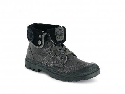 Palladium módne topánky PALLABROUSE BAGGY METAL/BLACK