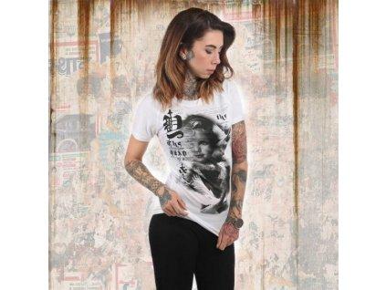 Yakuza SCARE ME dámske tričko GSB 12111 white